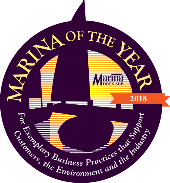 Marina of the Year award logo
