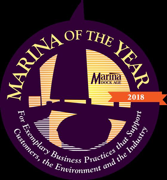 Marina of the Year award logo